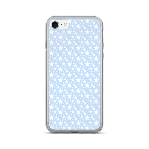 BABY BLUE STARZ IPHONE 7/7 PLUS CASE