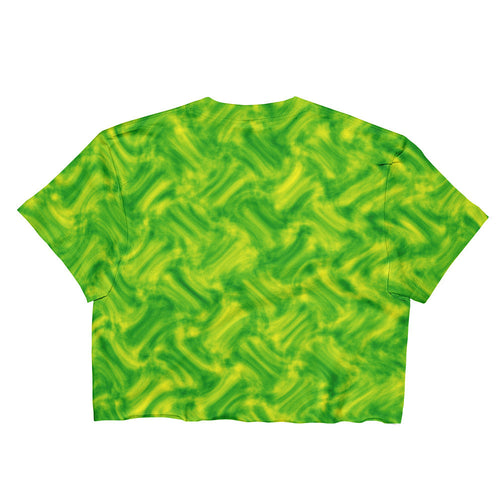 ACID CROP T-SHIRT