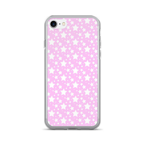 BABY PINK STARZ PHONE 7/7 PLUS CASE