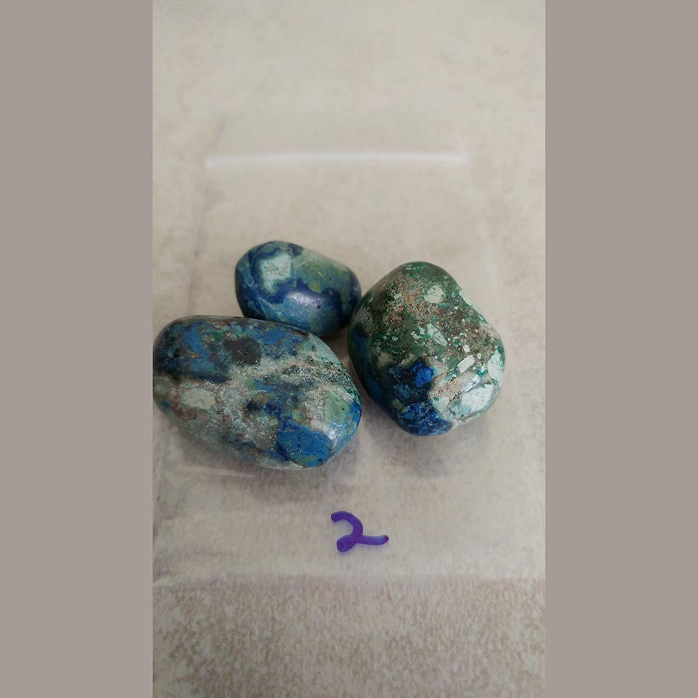 Azurite The ancient Chinese revered Azurite as the Stone of Heaven, able to open spiritual doorways.