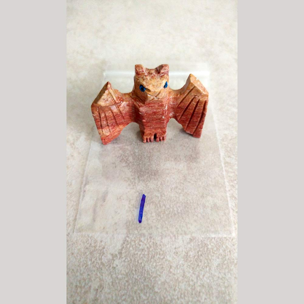 Soapstone Carved Bat