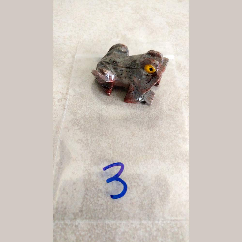 Soapstone Carved Frog