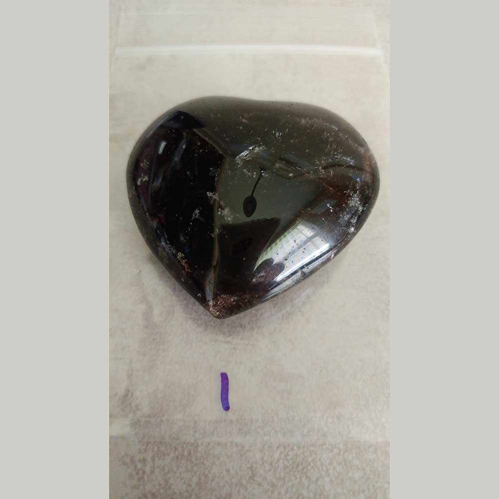 Smoky Quartz - It can be used to gently dissolve negative energies and emotional blockages