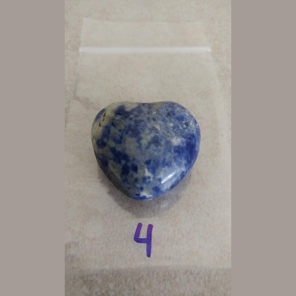 Sodalite is a calming gemstone