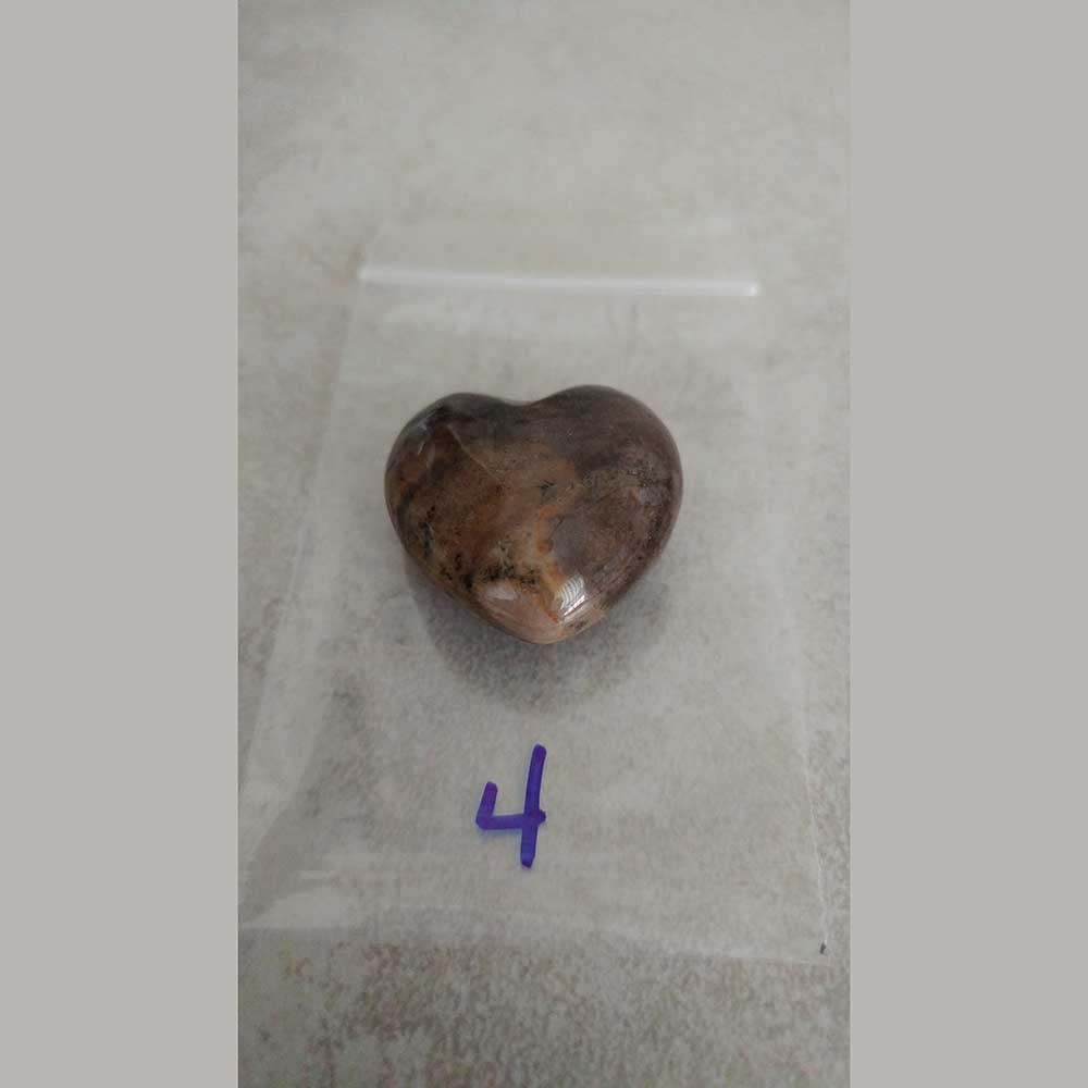 Amethyst Puff Heart Amethyst is a stone of psychic awareness, it is often used in divination with great results