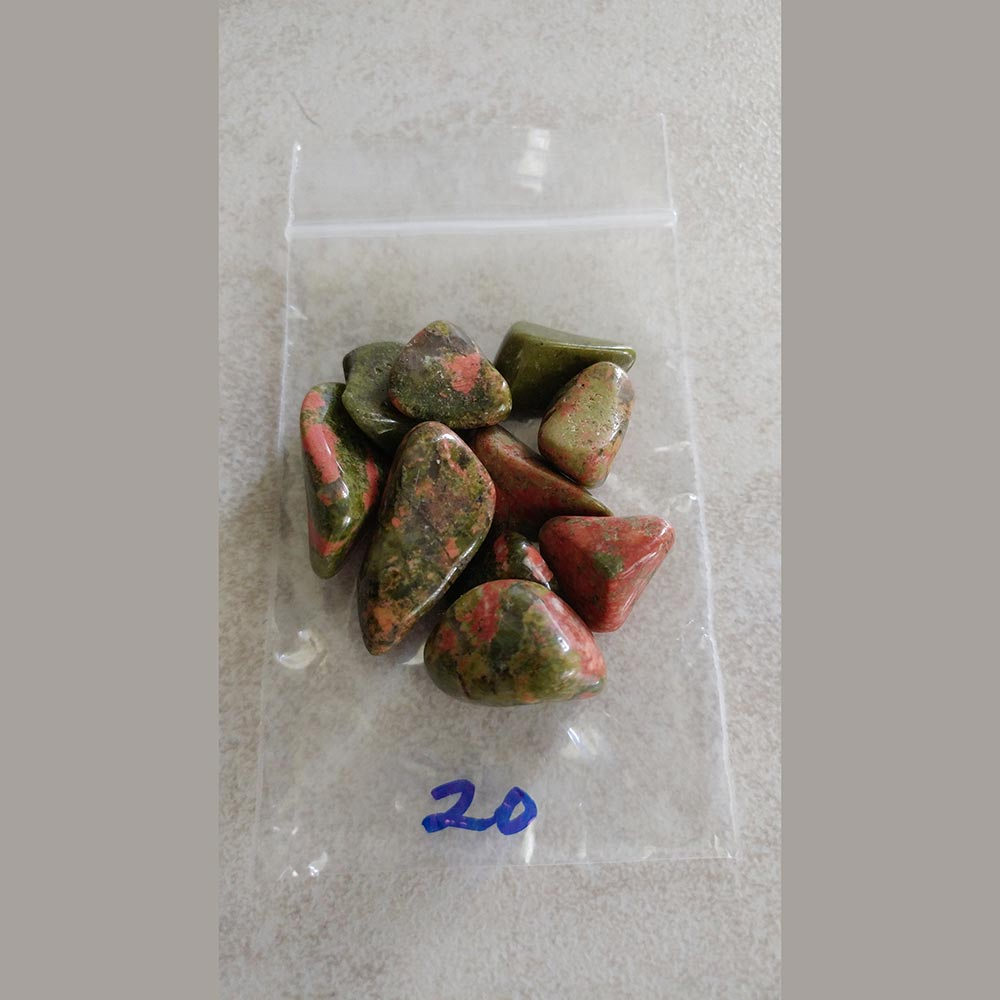 Unakite Tumbled - Love My Pet Gemstone