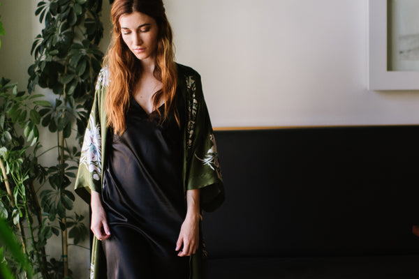 Gift Guide: The Luxurious Kimono Robe She'll Love