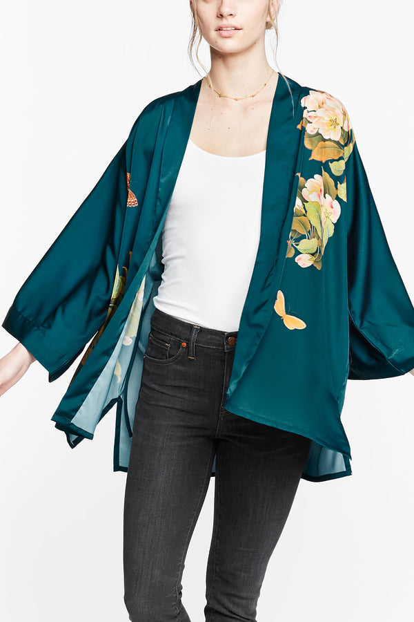 The Rise of the Kimono Jacket