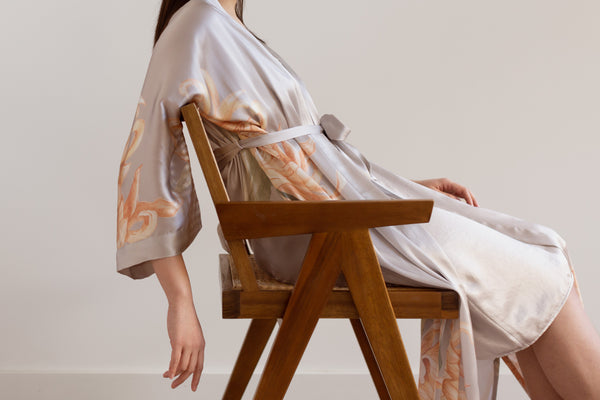 Caring for Your Washable Silk Kimono Robe at Home