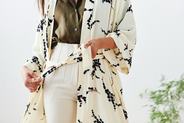 Our Newest Kimono Robes: Modern Abstract Collection