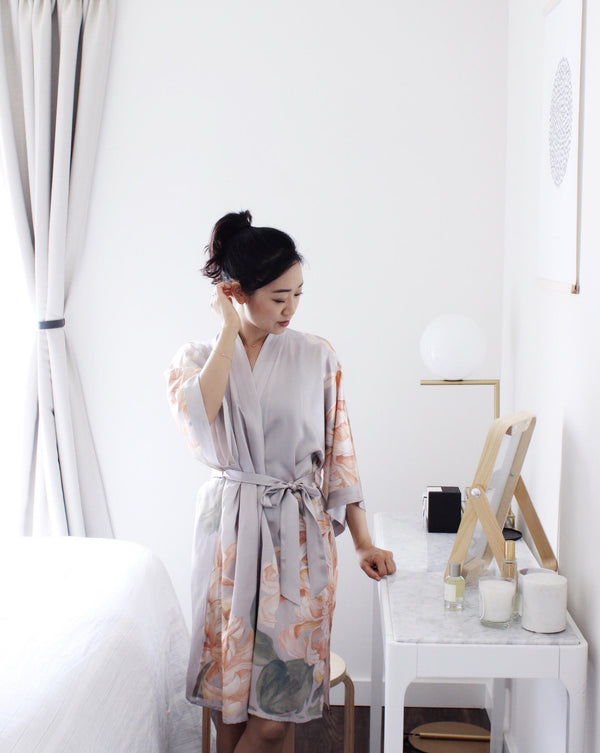 Wearing it Well: Liz Wang and the Simple Beauty of Her Kimono Robes