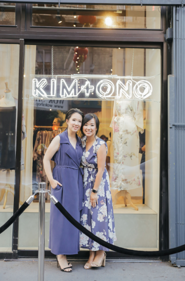 Tiffany Tam and Renee Tam, co-founders of KIM+ONO