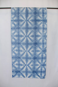 Italian Linen, Hand Dyed with Natural Indigo, Scarf 4