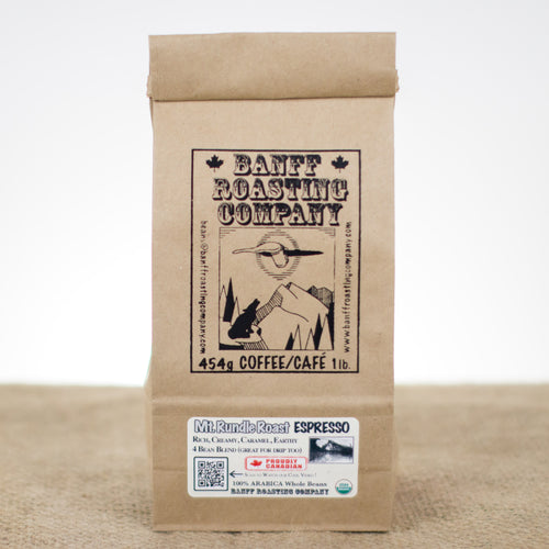 Mt. Rundle Roast — Espresso, Organic - Banff Roasting Company Ltd.