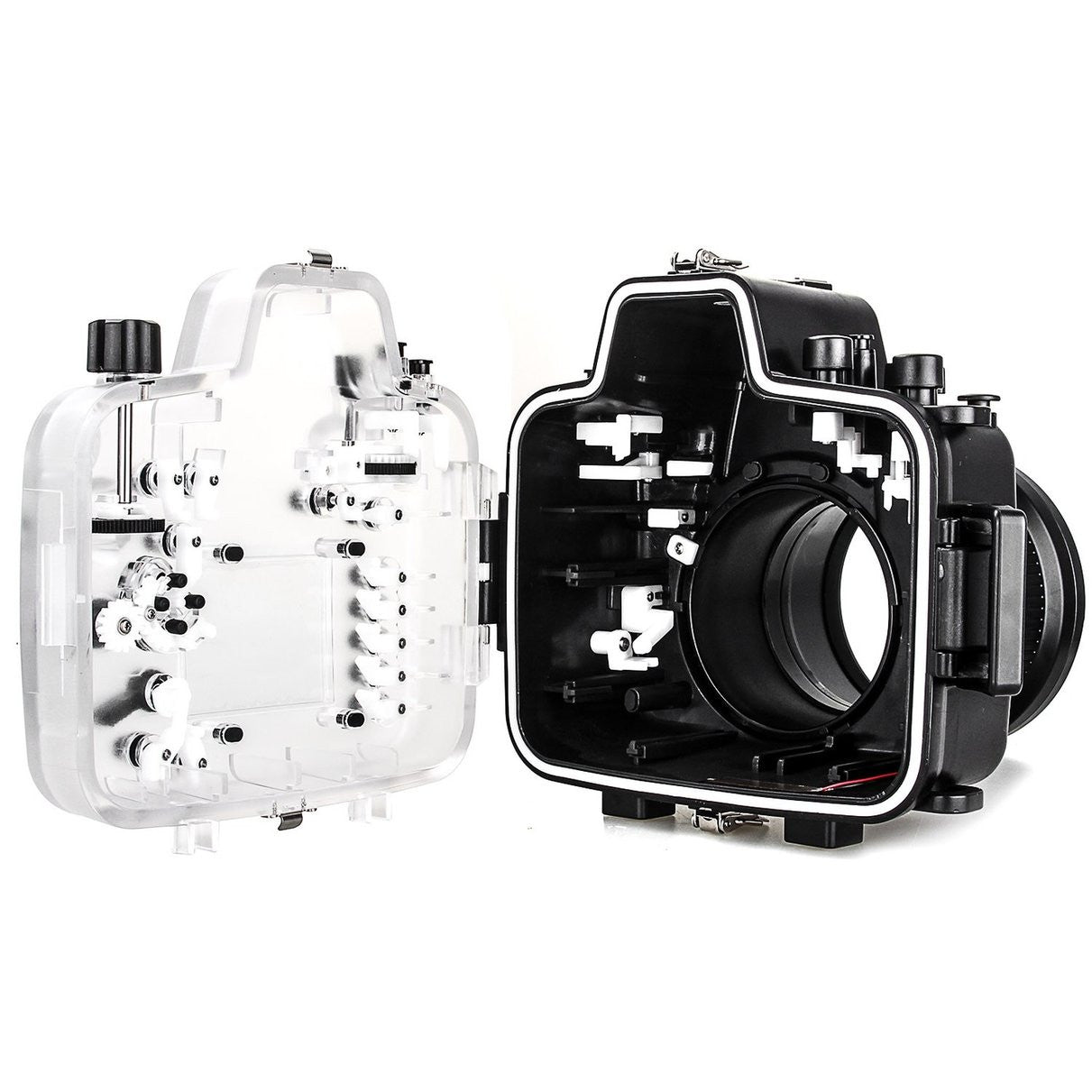 Meikon Waterproof Underwater Camera Housing Case Diving Equipment 60m/195ft for Nikon D800 - Spinner-Gadget