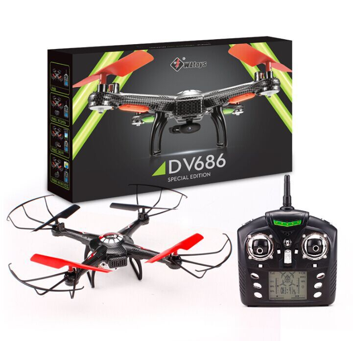 V686g Fpv Rc Drones With Camera Hd V686 Dron Professional Drones Quadcopters With Camera Rc Flying Camera Helicopter - Spinner-Gadget