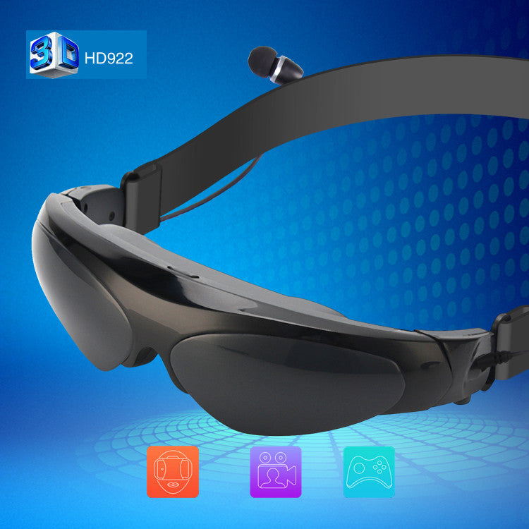 New Arrival 98 Inch 3D Virtual Reality Wide Screen Digital Video Glasses - Spinner-Gadget