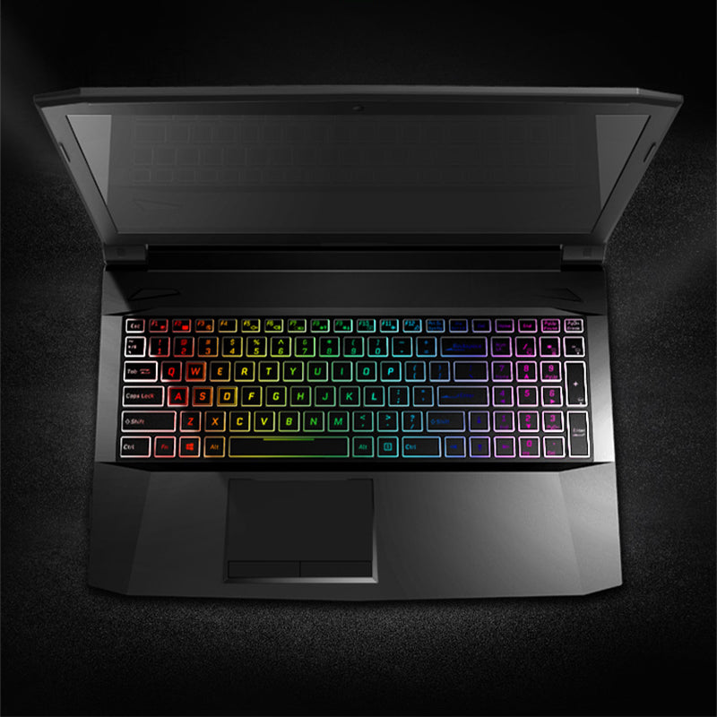 "Machenike T58-D1 Laptop 15.6"" 1080P Gaming Notebook Intel Core i7-7700HQ Quad Core GTX1050 8GB RAM 1TB HDD RGB Backlit Keyboard - Spinner-Gadget"
