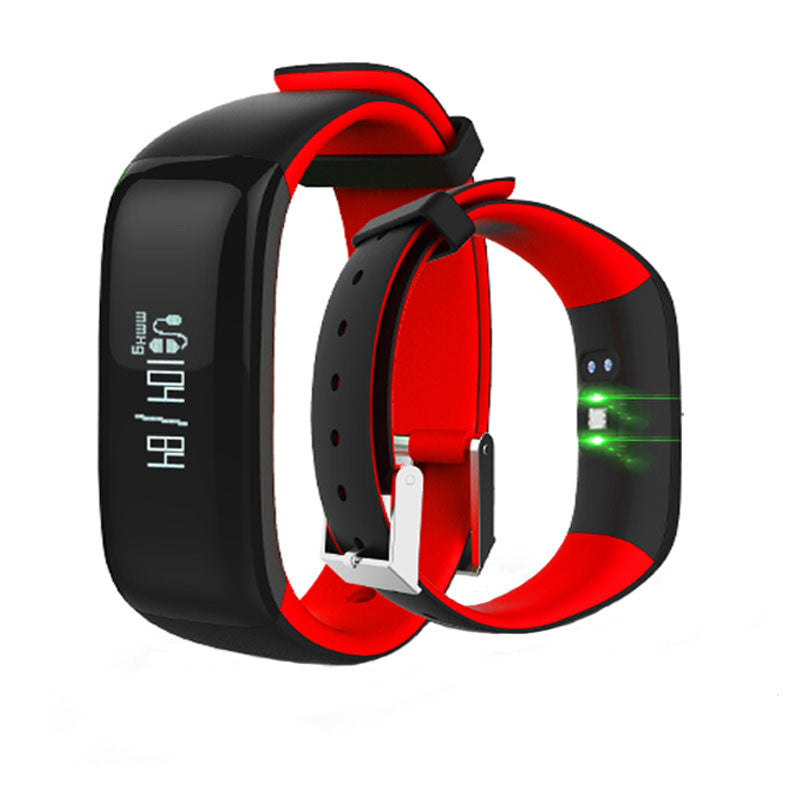 P1 Smartband Watches Blood Pressure Bluetooth Smart Bracelet Heart Rate Monitor Smart Wristband Fitness for Android IOS Phone - Spinner-Gadget