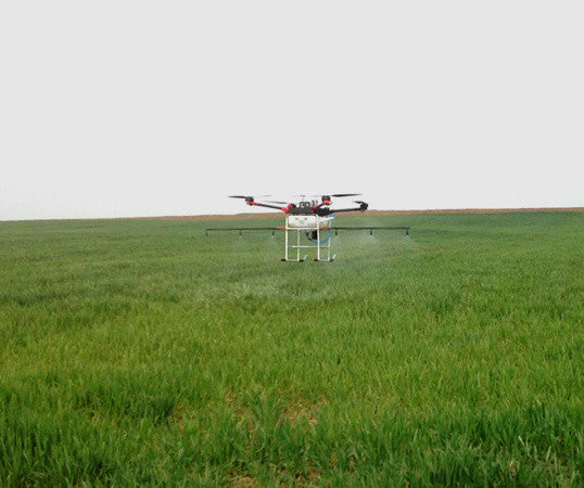 Multi - axis Agricultural Protection Drone,4-axis Spray  Pesticide UAV Sprinkling Pesticide Helicopter - Spinner-Gadget