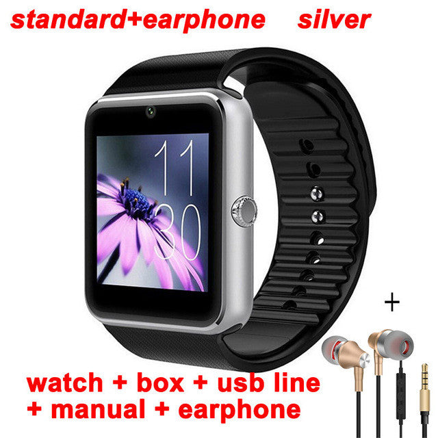 2017 Pewant Wearable Devices Smart Watch GT08 Android Wear Clock Smartwatch With Camera SIM Smart Health PK DZ09 A1 GD19 GT 08 - Spinner-Gadget