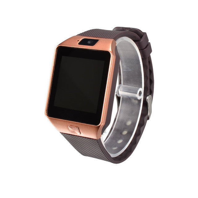 New Smart Watch DZ09 With Camera Bluetooth WristWatch SIM Card Smartwatch For Ios Android Phones Support Multi Languages - Spinner-Gadget