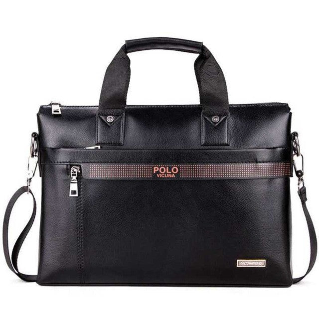 Fashion Simple Business Men Briefcase Bag - Spinner-Gadget
