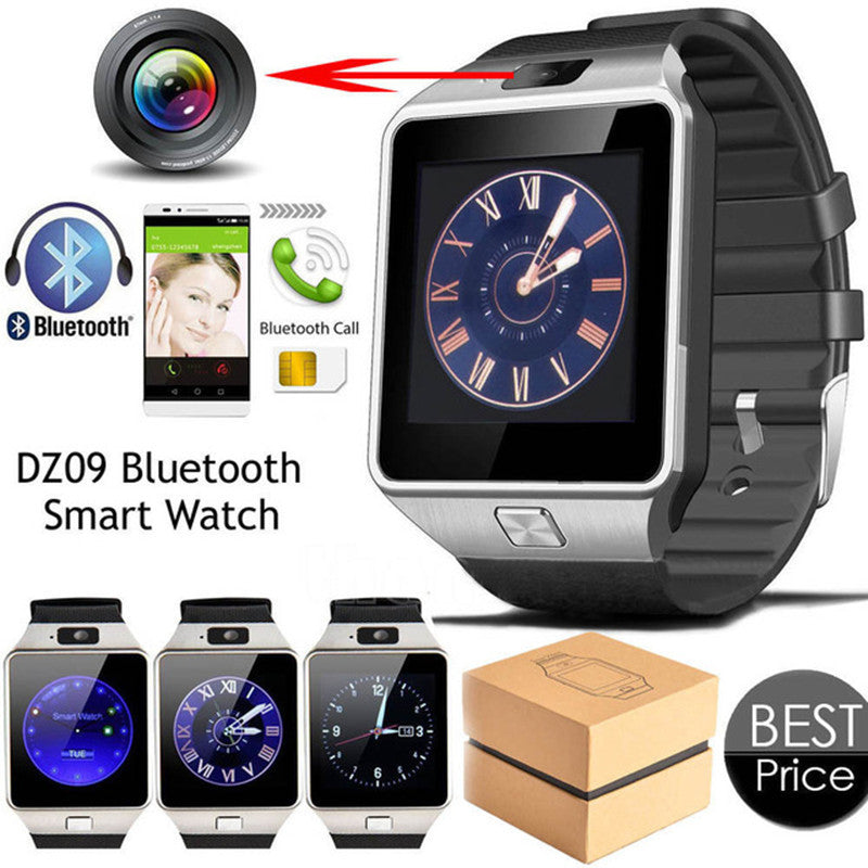 Smart Watch Digital DZ09 U8 Wrist with Men Bluetooth Electronics SIM Card Sport Smartwatch camera For iPhone Android Phone Wach - Spinner-Gadget