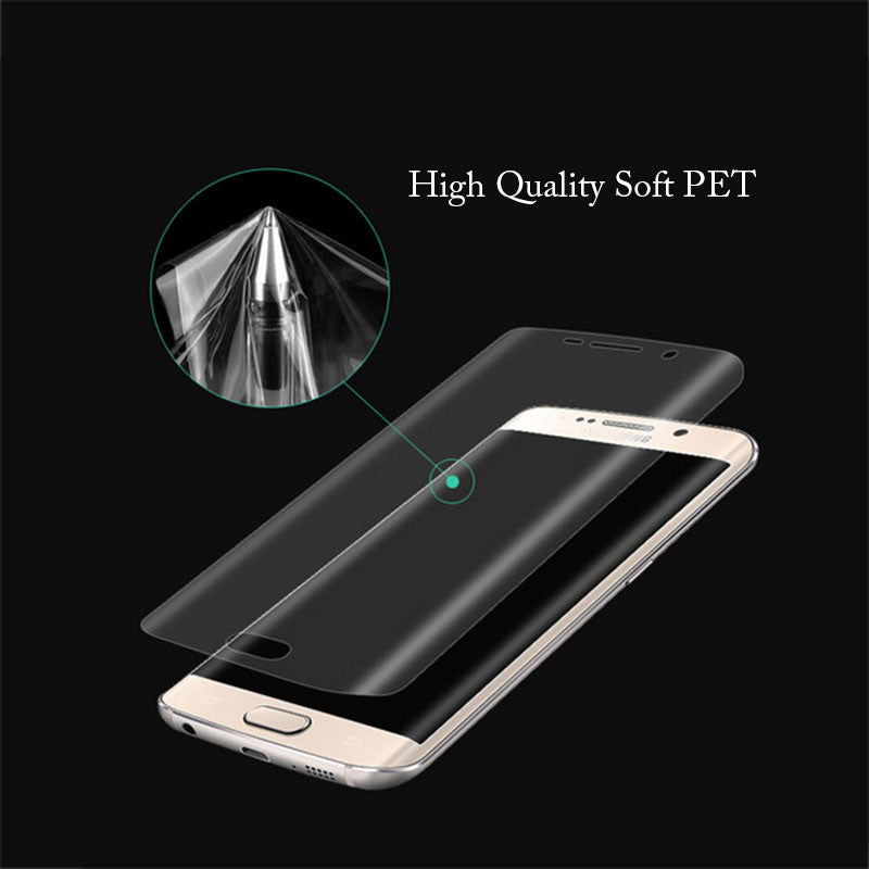 Curved Full Coverage Soft PET Screen Protector