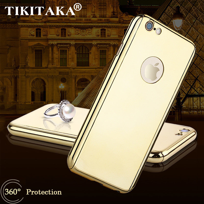 "Ultra thin Plating Hard PC Mirror Back Cover For iphone 6 6s 4.7"" - Spinner-Gadget"