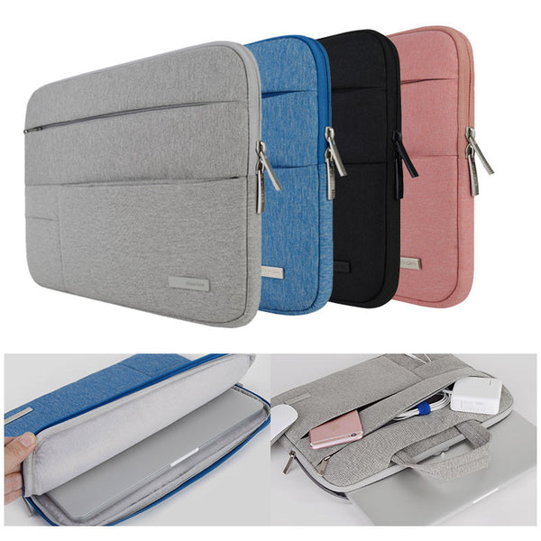 "Laptop Bags Sleeve Notebook Case for Dell HP Asus Acer Lenovo Macbook 11 12 13 14 15 15.6 inch  Soft Cover for Retina Pro 13.3"" - Spinner-Gadget"