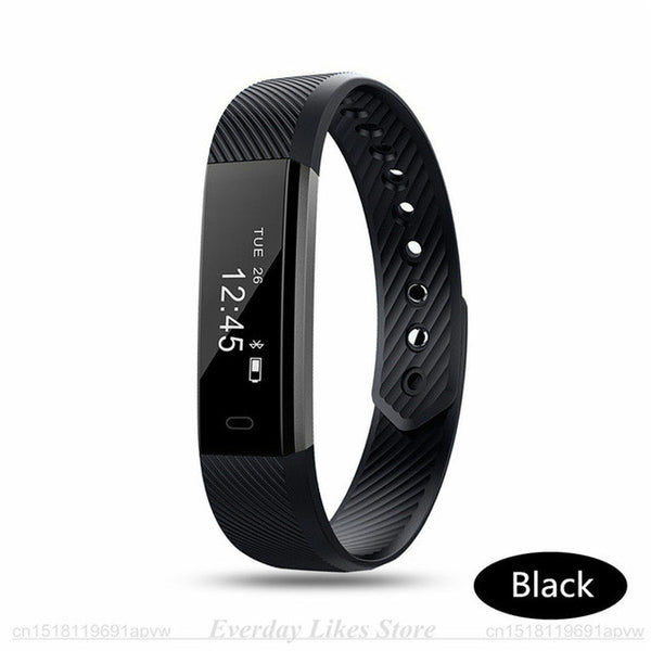 Smart Bracelet Fitness Tracker Watch with Alarm Clock Step Counter