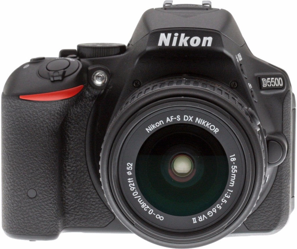 New Nikon D5500 Digital SLR Camera Body with Nikon AF-S DX 18-55mm f/3.5-5.6G VR II Lens - Spinner-Gadget
