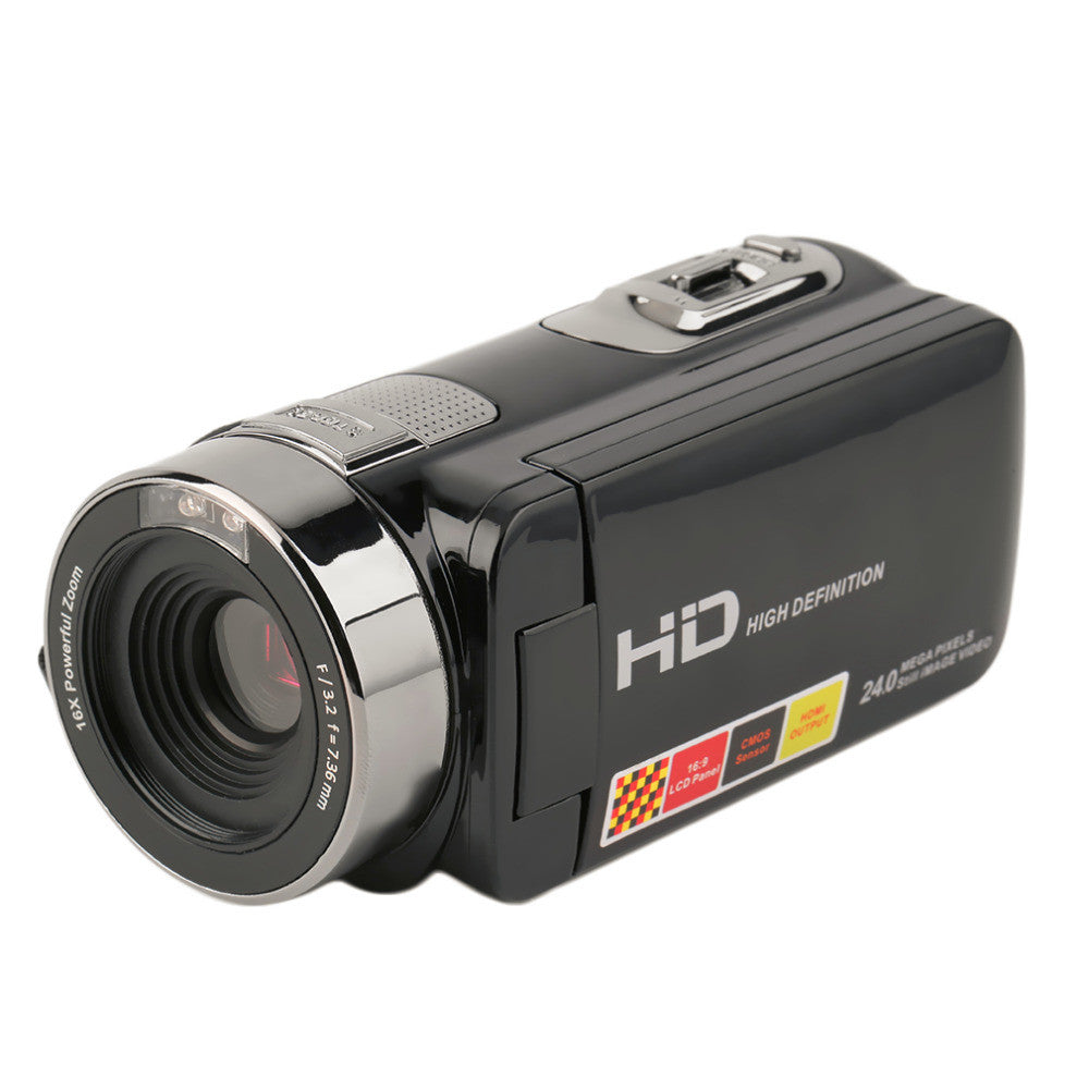 3.0 inch FHD 1080P 16X Digital Zoom 24MP Digital Video Camera Camcorder DV 2017 New Arrival Drop Shipping - Spinner-Gadget