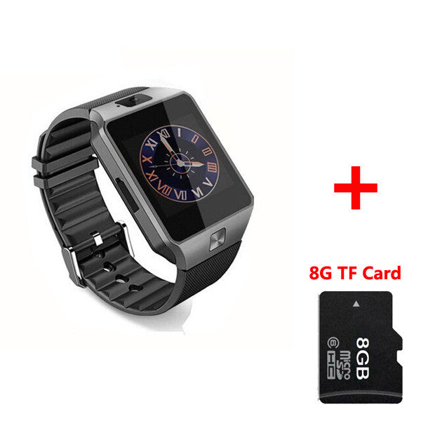 DZ09 Smart Watches Wearable Devices with Camera relogio Bluetooth Smartwatch Support SIM TF Card Watches For Ios Android Phones - Spinner-Gadget