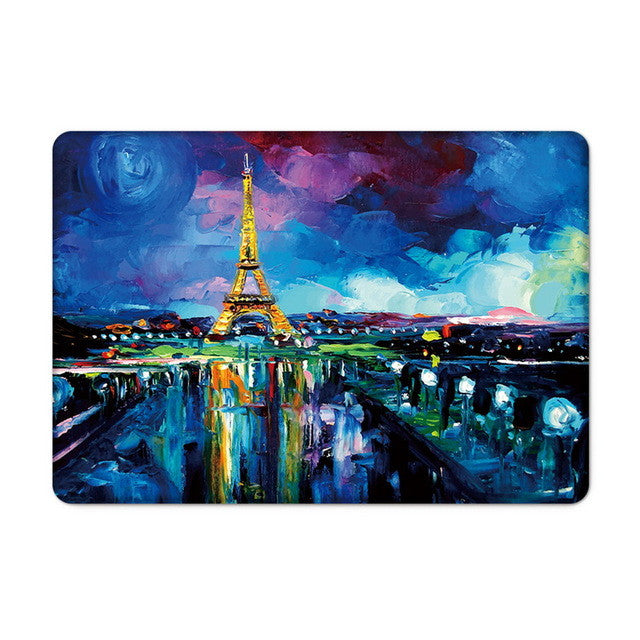 New oil painting design laptop case covers - Spinner-Gadget