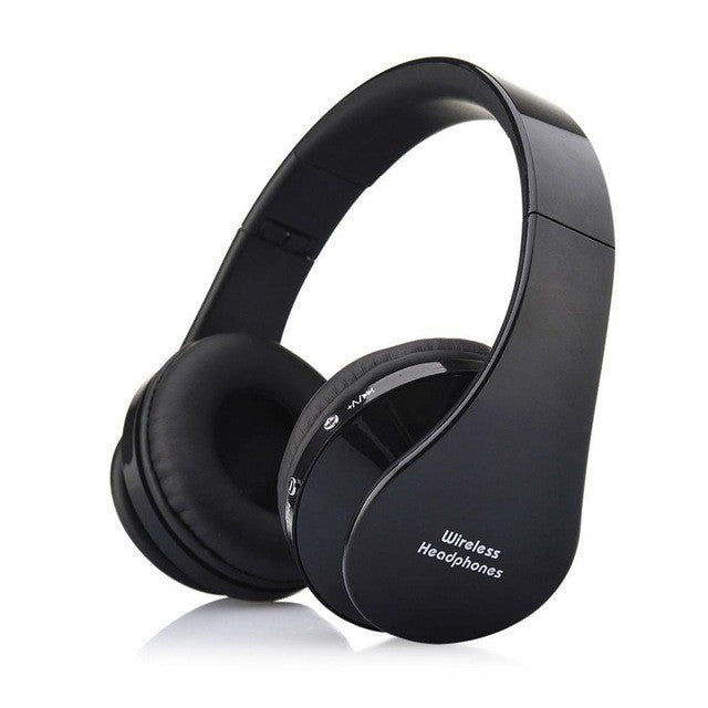 NX-8252 Professional Foldable Wireless Bluetooth Headphone Super Stereo Bass Effect Portable Headset - Spinner-Gadget