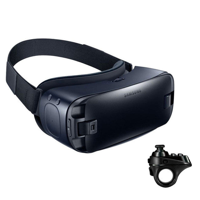 Gear VR 4.0 Virtual Reality 3D Glasses for Samsung Galaxy S8 S8+ Note7 Note 5 S6 S6 Edge S6 Edge+ S7 S7 Edge + Bluetooth Gamepad - Spinner-Gadget