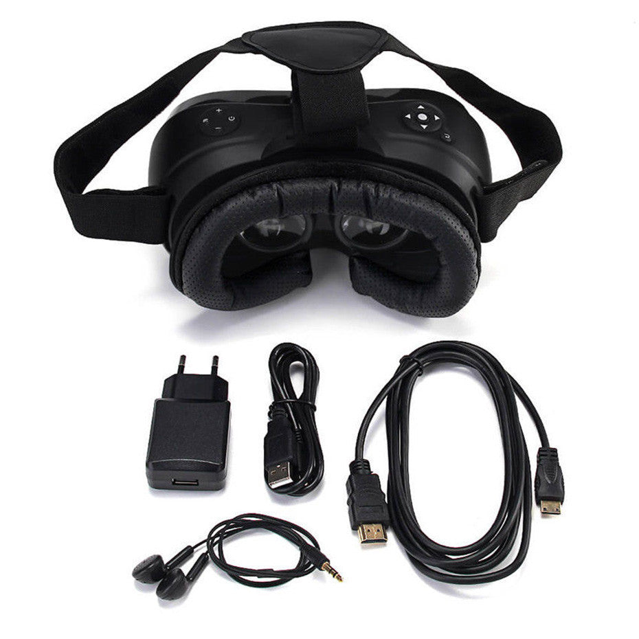 VR Headset 3D Glasses Virtual Reality Glasses All In one - Spinner-Gadget