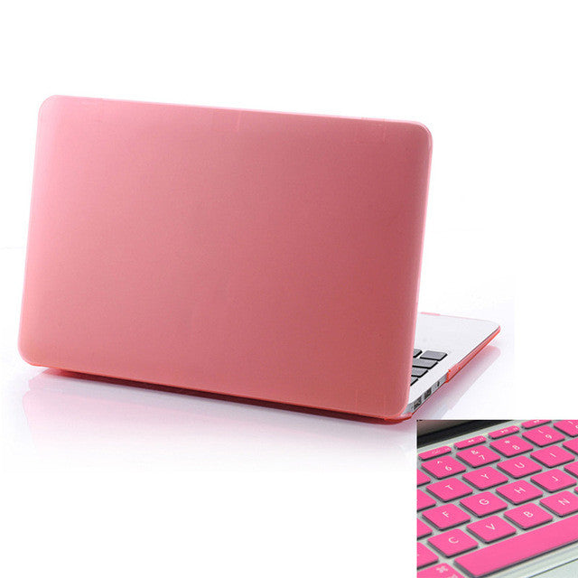 Hot Selling! 2017 New Fashion Matte Hard Cover Scrub Case for Macbook Pro 15 inch
