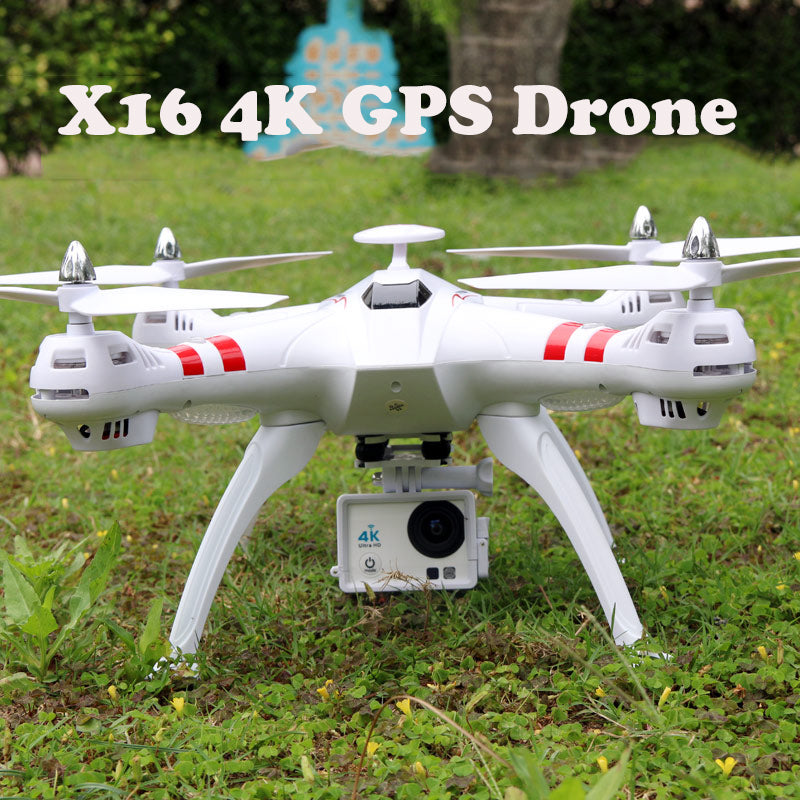 4K Brushless X16 GPS Real-Time RC Helicopter Drone With Camera HD 2.4G 6Axis RTF 1600W - Spinner-Gadget