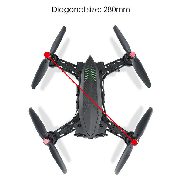 Professional Racing RC Drone with Camera HD 720P 5.8G FPV and VR Glass - Spinner-Gadget