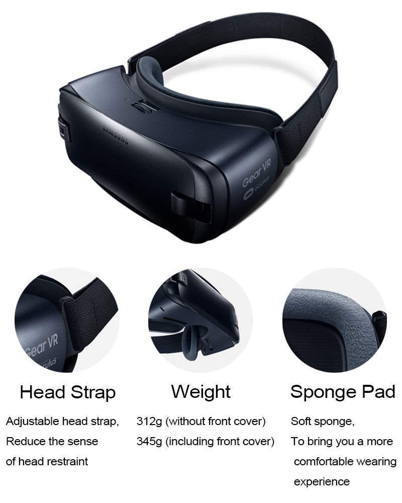 Gear VR 4.0 R323 Virtual Reality Glasses Support Samsung Galaxy S8 S8+ Note7 Note 5 S6 S6 Edge S7 S7 Edge Gear Remote Controller - Spinner-Gadget