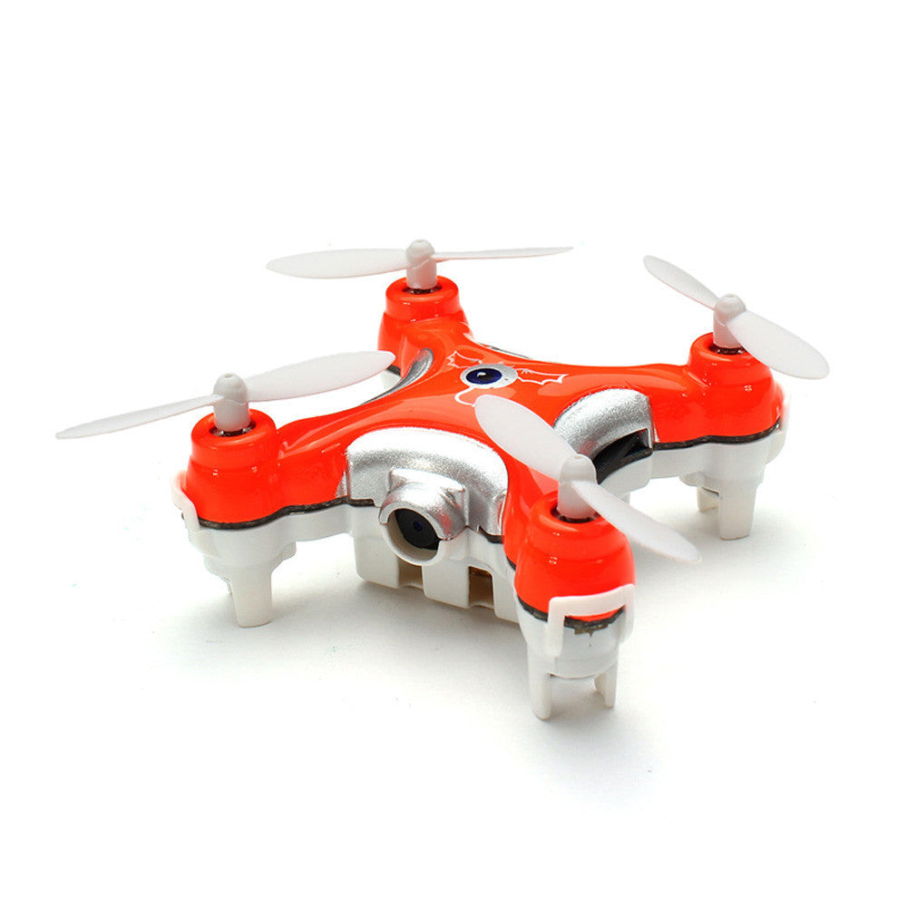 Mini Drone RC helicopter toys Cheerson CX-10C Mini 2.4G 4CH 6 Axis LED RC Quadcopter with Camera RTF gift for boys - Spinner-Gadget