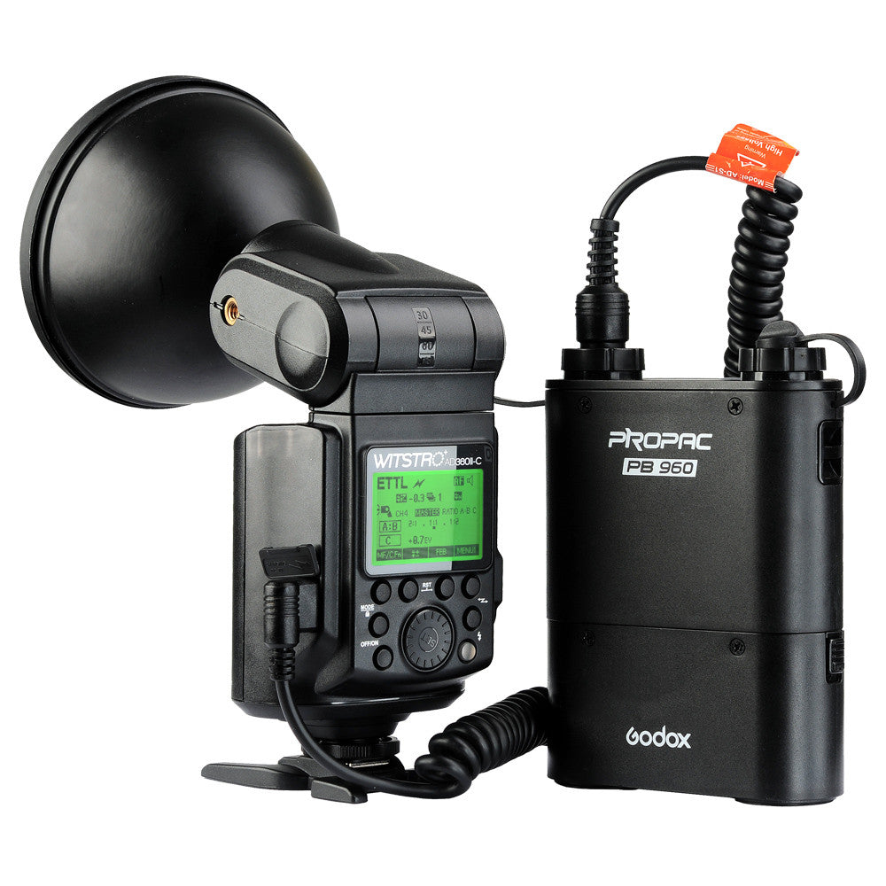 Wireless Power Control Outdoor Flash Light + PB960 Power Battery Pack Kit For Nikon Camera - Spinner-Gadget