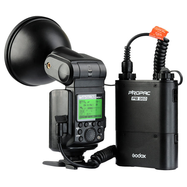 Wireless Power Control Outdoor Flash Light + PB960 Power Battery Pack Kit For Nikon Camera