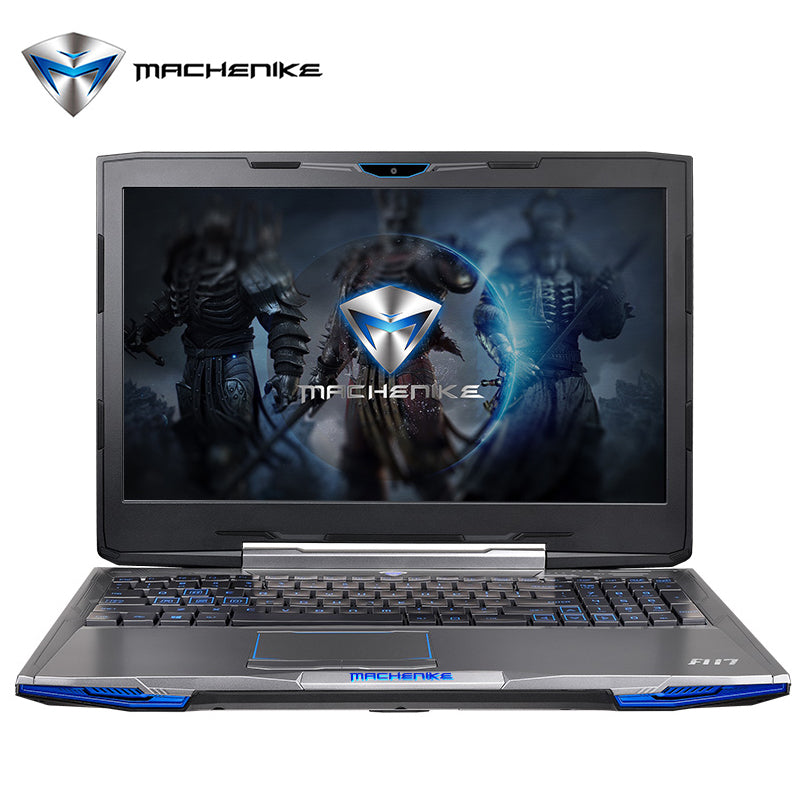 "Machenike F117 F2U 15.6"" FHD Gaming Laptop Intel Core i7-7700HQ GTX1050 4G Video RAM 8G RAM 128G SSD 1T HDD RGB Backlit Keyboard - Spinner-Gadget"