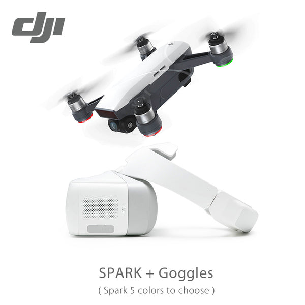 DJI Spark & Goggles & Fly more combo Selfie Drone