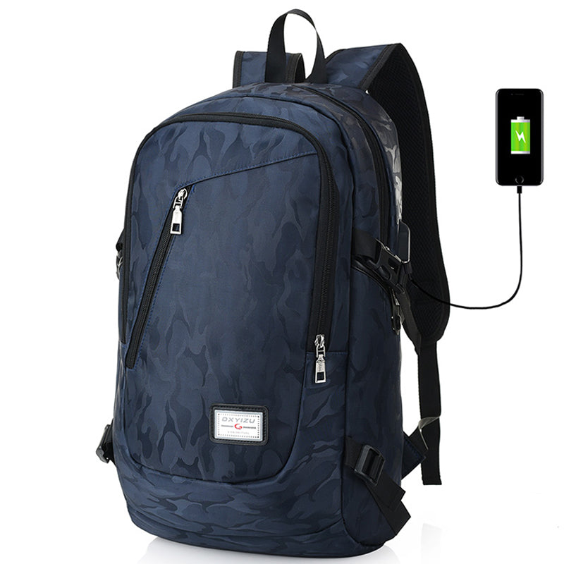 Laptop Backpack Men USB Charging