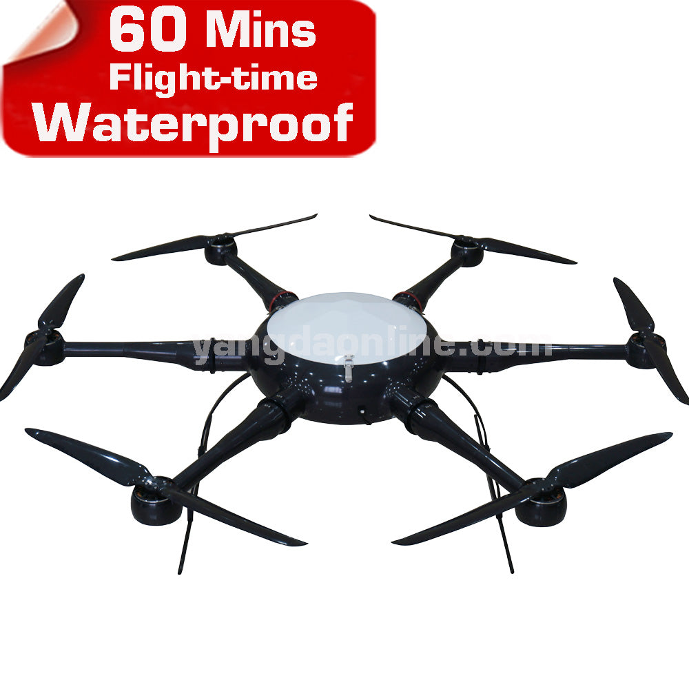 Long Flight Time RC Drone Frame Waterproof - Spinner-Gadget